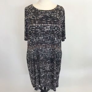 NWOT Connected Apparel Dress 24W
